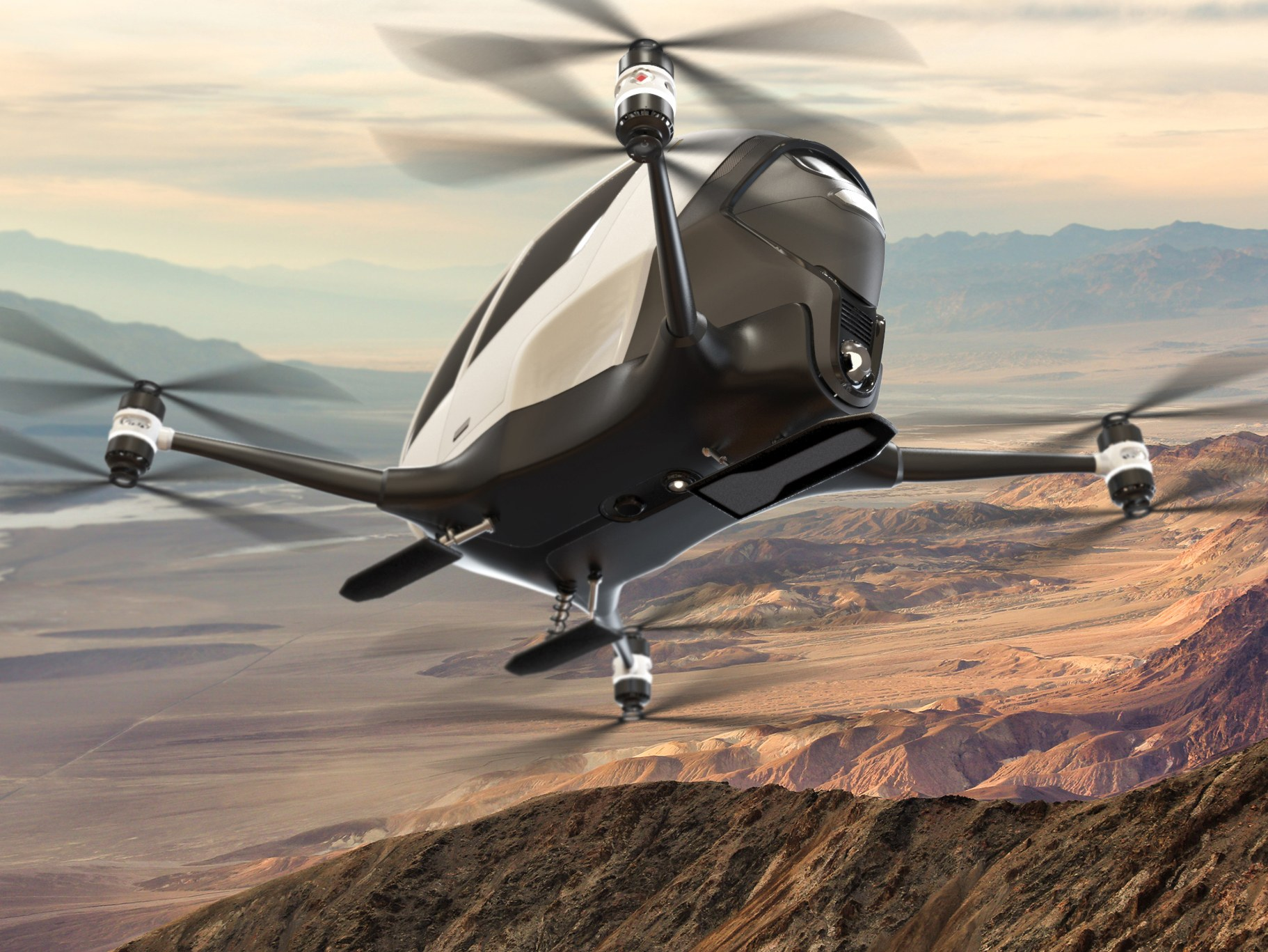 This Taxi Drone Is New Competitor Of Uber Flying Car