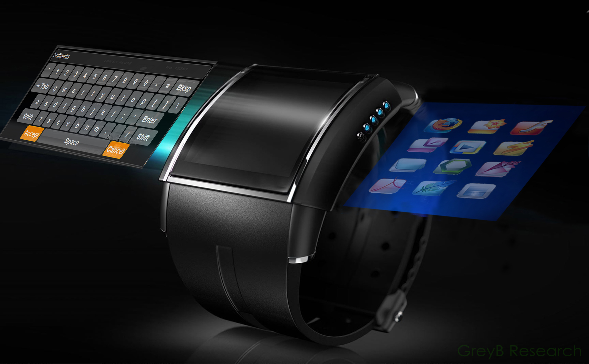 Smartwatch Virtual Keyboard